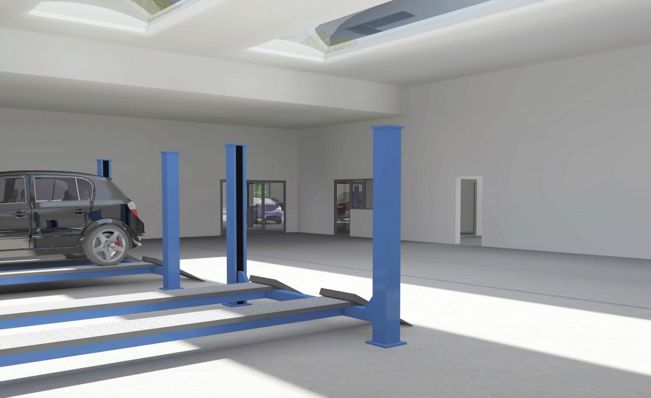 Architect- en ingenieursbureau Andries & Vuylsteke - Uitbreiding garagecomplex met appartementen
