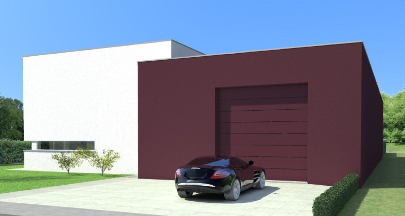 Architect- en ingenieursbureau Andries & Vuylsteke - Nieuwbouw industrieloods met woning