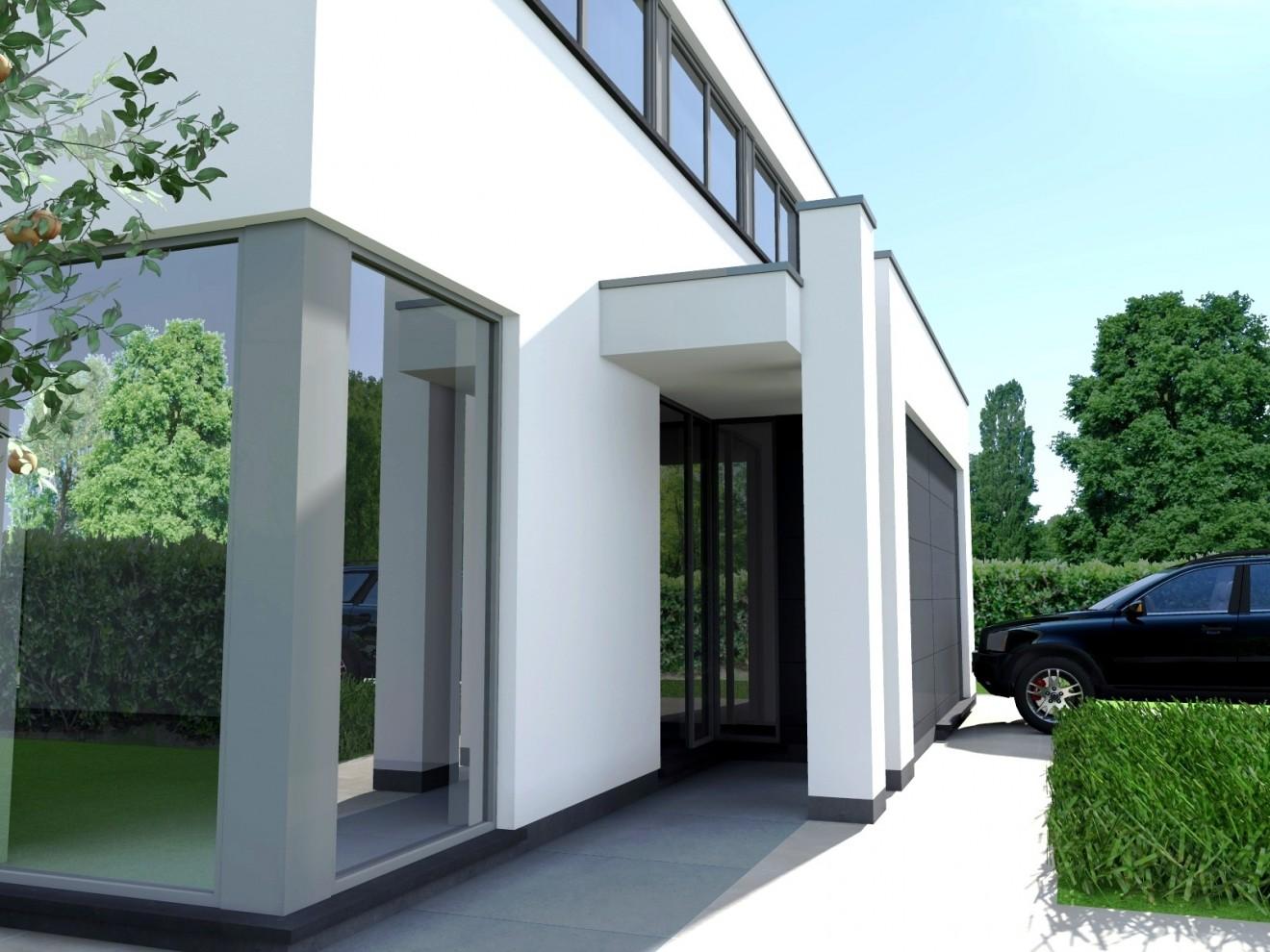 Architect- en ingenieursbureau Andries & Vuylsteke - Nieuwbouwwoning Destelbergen