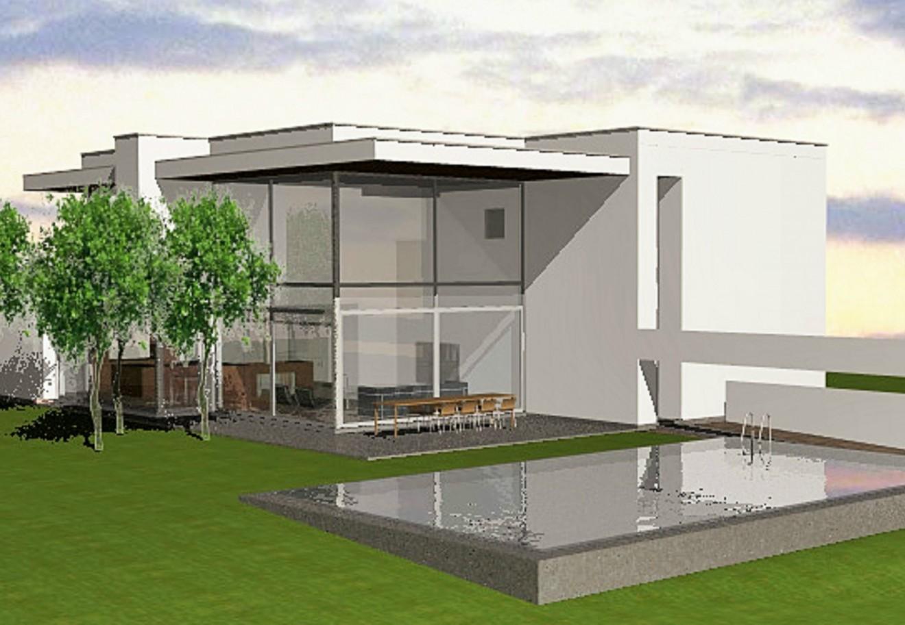 Architect- en ingenieursbureau Andries & Vuylsteke - Nieuwbouwwoning Zuid-afrika