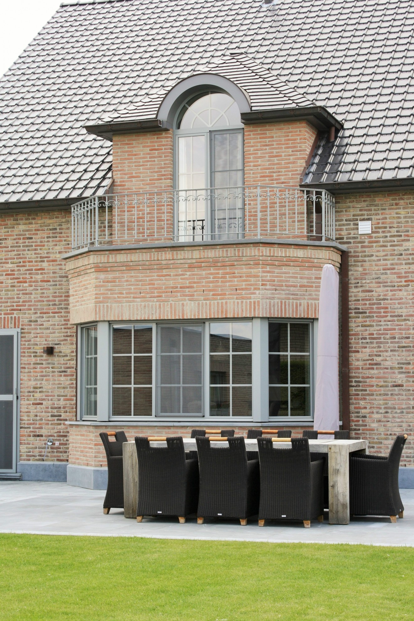 Architect- en ingenieursbureau Andries & Vuylsteke - Nieuwbouwwoning Burst
