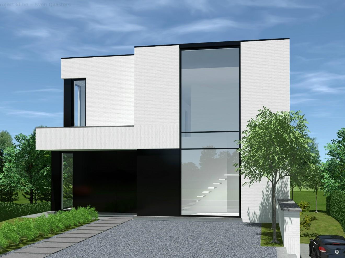 Architect- en ingenieursbureau Andries & Vuylsteke - Nieuwbouwwoning Semmerzake